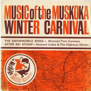45 howard cable music from the muskoka winter carnival the after ski stomp pic sleeve front