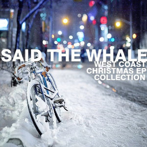 Said the whale christmas cover