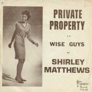 45 shirley matthews wise guys pic sleeve front