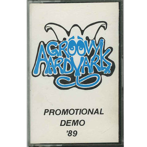 Cassette groovy aardvark promo demo cassette rectangle squared