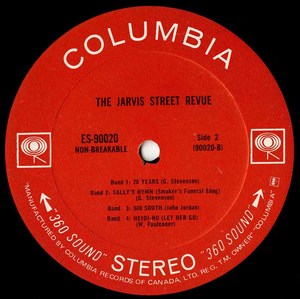 Jarvis street revue st label 02