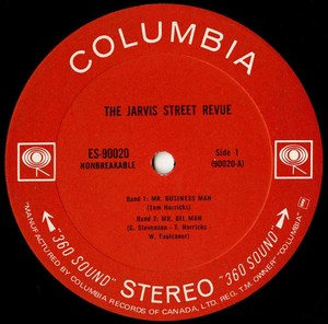 Jarvis street revue st label 01