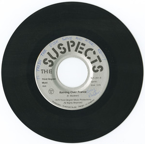 45 the suspects raining over france vinyl 02