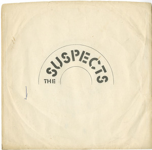 45 the suspects raining over france pic sleeve front