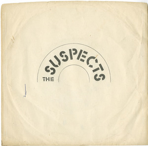 45 the suspects raining over france pic sleeve back