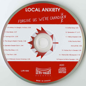 Cd local anxiety forgive u were canadian cd