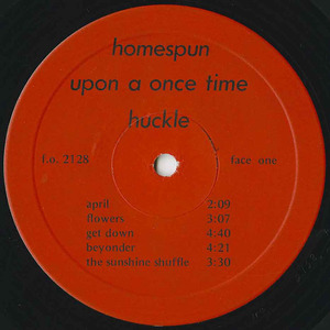 Huckle upon a once time label 01