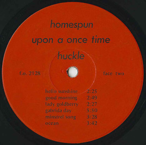 Huckle upon a once time label 02