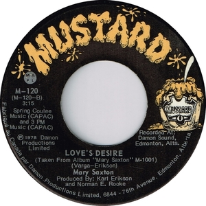 Mary saxton loves desire mustard