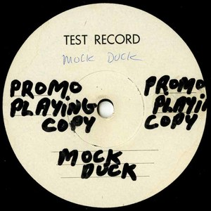 Mock duck test record label 01
