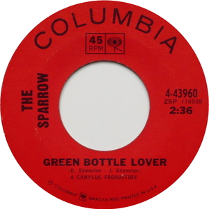 The sparrow green bottle lover 1966 2