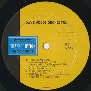 Dave woods orchestra cbc h3 label 02