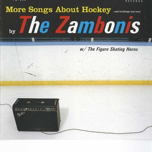 Cd zambonis more songs about hockey front