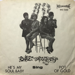 Sweet somethings he's my soul baby pic sleeve front