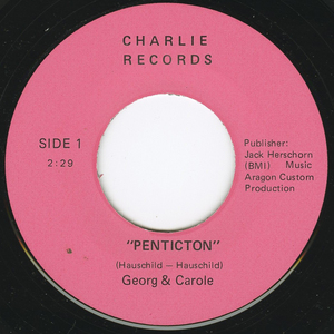 45 georg   carol penticton label