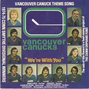 Don cook canucks we're with you pic sleeve front