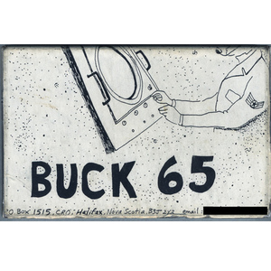 Buck 65   year zero cassette front squared