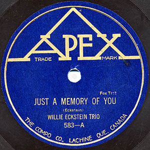 Eckstein  willie   just a memory of you squared