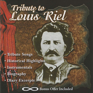 Cd tribute to louis riel front